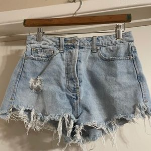 Camilla and Marc highrise jean short